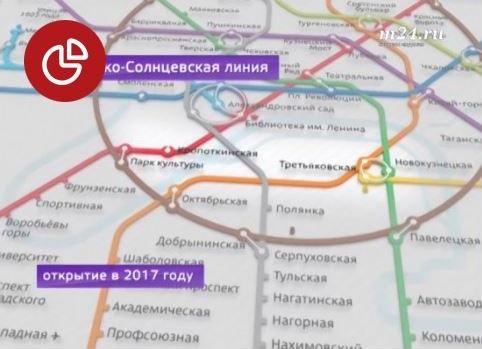 Какой будет Калининско-Солнцевская линия метро