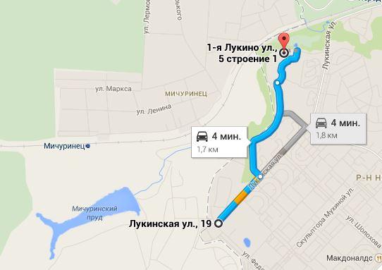 Конюшня в Ново-Переделкино. Схема проезда
