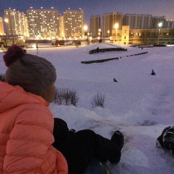 зима в ПБ