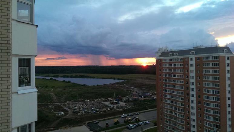 восходы-закаты над переделкино ближнее