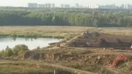 Переделкино Ближнее, река Алешинка