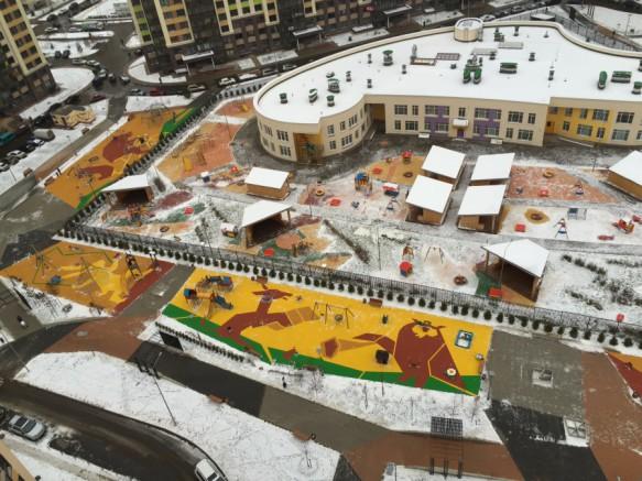 Первый снег в Переделкино Ближнее