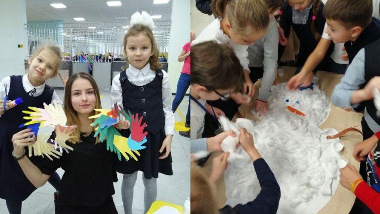 Благотворительная новогодняя ярмарка в Переделкино Ближнее
