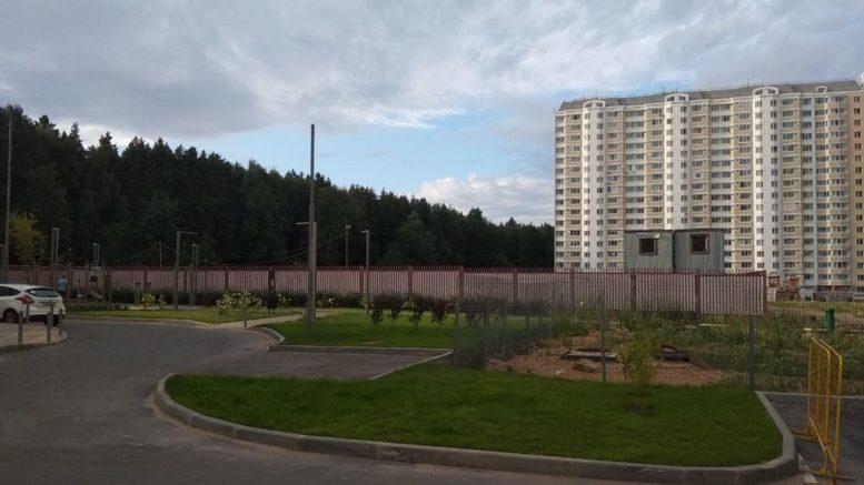 Строительство социальных объектов в Переделкино Ближнее