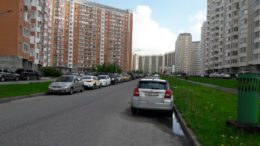 Увеличение количества парковочных мест по улице Самуила Маршака